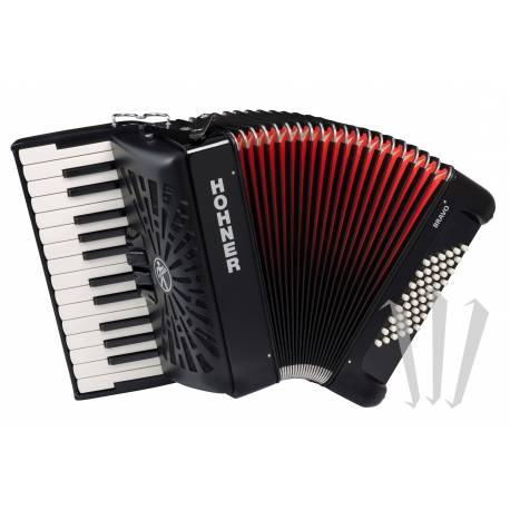 Chromatic Button/Piano 3-row Accordion (Monthly Hire)