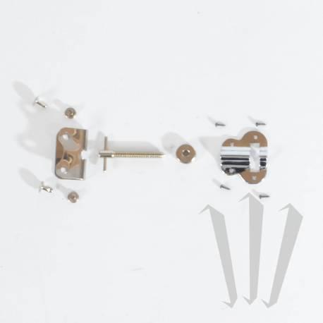 Kit de réglage pour courroie accordéon diatonique