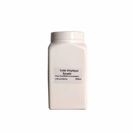 Glue for plastic reed valves