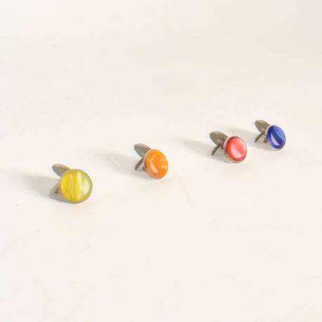 Treble button with rim (14,5 mm)