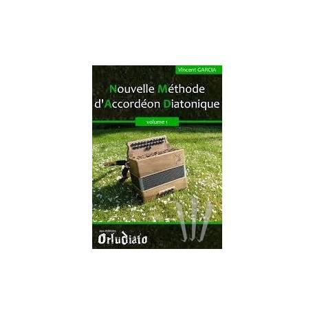 Nouvelle Méthode d'Accordéon Diatonique vol. 1