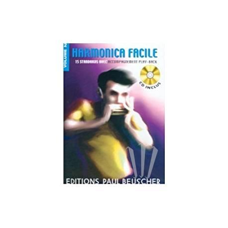 Harmonica facile VOL 1
