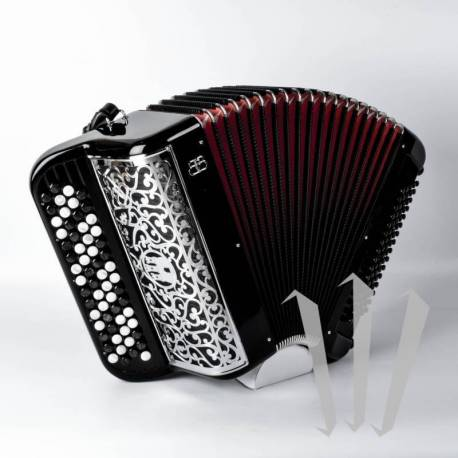 Chromatic Button/Piano 4-row Accordion (Monthly Hire)