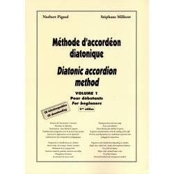 Méthode d'accordéon diatonique vol.1