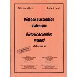 Lire une partition à l'accordéon diatonique