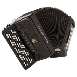 Accordéon basses Chromatiques Scandalli C342