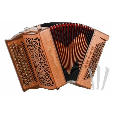Accordéon Diatonique Saltarelle Arcadia 96 basses Compact