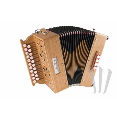 location d'accordéon diatonique Sol Do : Saltarelle Bouebe G/C