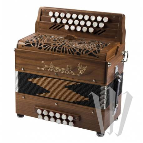 Accordéon Diatonique Saltarelle Romané
