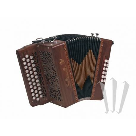Accordéon Diatonique Saltarelle Duna