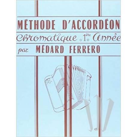 Méthode d'accordéon chromatique 1re année (Bleu)