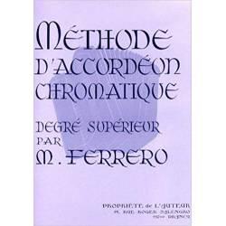 Méthode d'accordéon chromatique degré supérieur (Mauve)