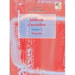 """Méthode d'accordéon Vol.3 """"Virtuosité"""" (Maugain)"""
