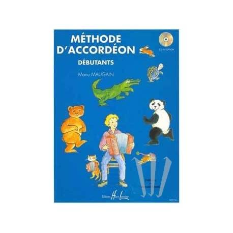 """Méthode d'accordéon Vol.1 """"Débutants"""" (Maugain)"""