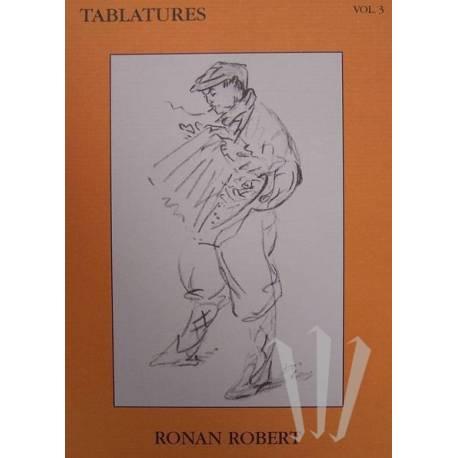 Tablatures Accordéon Diatonique Vol.3 + CD (Robert)